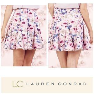 LC Lauren Conrad Skirts - Lauren Conrad Runway collection floral scuba skirt